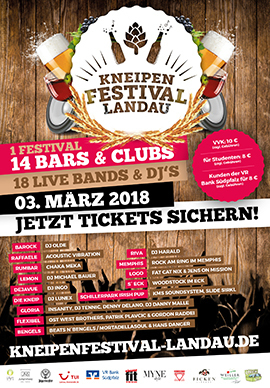 Kneipenfestival Landau 2018
