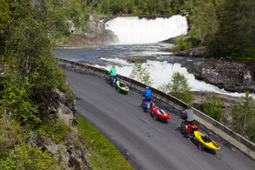Bild: Mit Rad und Kajak durch Norwegen - Diashow mit Olaf Obsommer