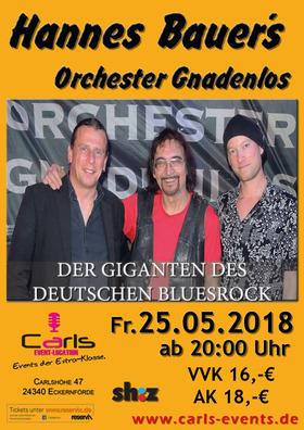 Bild: Hannes Bauer´s Orchester Gnadenlos - Der Giganten des Deutschen Bluesrock