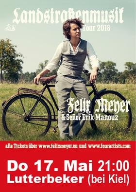 Bild: Felix Meyer & Eric Manouz - Landstrassenmusik Tour 2018