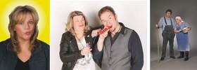 Bild: Der Schwabendreier - Comedy Mixed Show mit Sabine Essinger, Hillus Herzdropfa und Irrtum & Daneben
