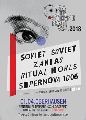 Bild: Kalte Sterne Festival 2018 - mit: Soviet Soviet, Zanias, Ritual Howls, Supernova 1006
