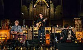 Bild: Yorkston Thorne Khan Trio - präsentiert von Klangvokal
