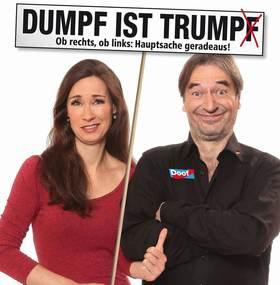 Bild: Die Buschtrommel - DUMPF IST TRUMP(F)