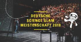 Bild: Deutsche Science Slam Meisterschaft 2018