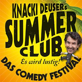 Bild: Knacki Deuser's Summer Club - Comedy Festival 2018 - mit Knacki Deuser, Don Clarke, Benni Stark, Maxi Gstettenbauer und Ingmar Stadelmann