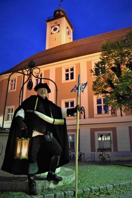 Bild: Führung mit dem Eichstätter Nachtwächter - Klingendes Denkmal – die Welt der reinen Musik