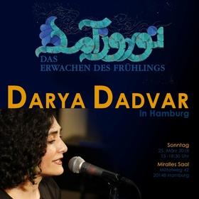 Bild: DIWAN-Hamburg NOWRUZ-Feier 2018 - mit Darya Dadvar, Mina Esfandiari und Hadi Teherani