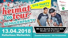 Bild: MDR Sputnik Heimattour - U18-Schülerparty