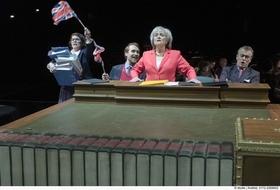 Bild: Let´s Stop Brexit - Theater Krefeld Mönchengladach