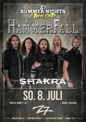 HAMMERFALL - Z7 SUMMER NIGHTS OPEN AIR