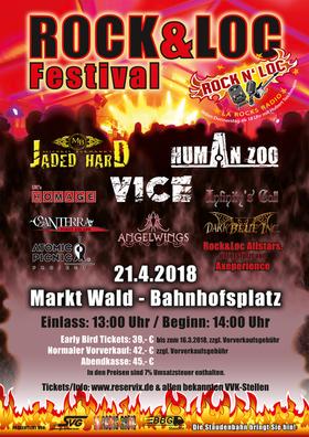 Bild: Rock&Loc Festival - Die Staudenbahn rockt