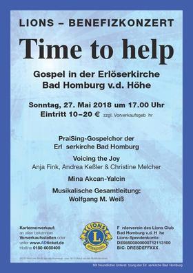 Bild: Lions Gospel-Benefizkonzert - Time to help