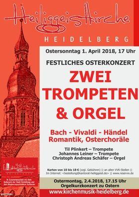 Bild: Festliches Osterkonzert - Zwei Trompeten und Orgel