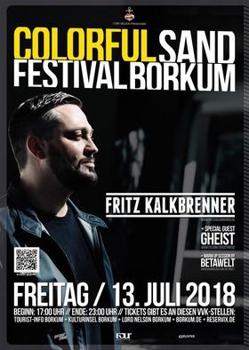 Bild: Fritz Kalkbrenner Live