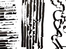Bild: Die Kraft der Linie - ein Kunst-Workshop mit Nora Brügel