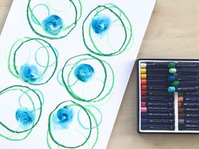 Bild: Der Kreis in der Kunst – ein Kunst-Workshop mit Markus Kronberger