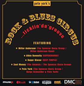 Bild: Pete York´s Rock & Blues Circus