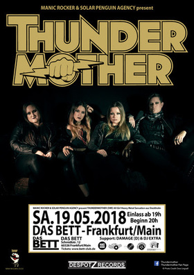 THUNDERMOTHER - The Revival Tour 2018