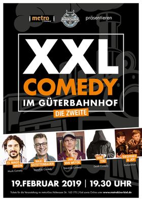 Bild: XXL COMEDY IM GÜTERBAHNHOF - El Mago Masin, Jan van Weyde, Maxi Gstettenbauer,Siegfried & Joy, Der Tod