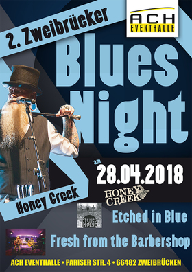 Bild: 2. Zweibrücker Blues Night - Honey Creek & supports