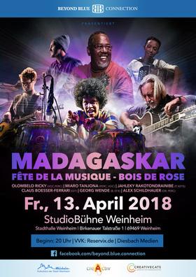 Bild: Madagaskar - Fête de la musique - Bois de Rose