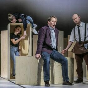 Bild: Andorra - Landestheater Detmold