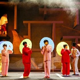 Bild: In 80 Tagen um die Welt - Landestheater Detmold