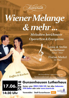 """Bild: """"WIENER MELANGE und mehr..."""" - Melodien berühmter Operetten und Evergreens"""