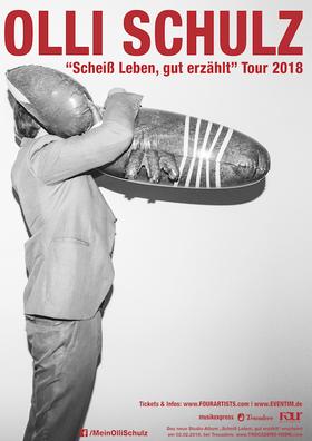"""Bild: OLLI SCHULZ - """"Scheiß Leben, gut erzählt"""" Tour 2018"""