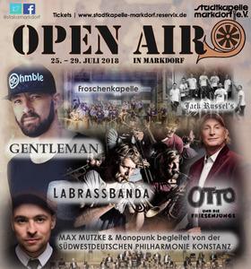 Bild: Open Air Markdorf - Festival-Ticket - gilt für alle 4 Veranstaltungen