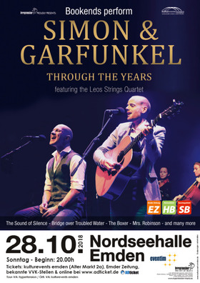 Bild: Bookends perform SIMON & GARFUNKEL - Through the Years