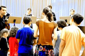 Bild: Kinderkonzert mit dem Ensemble Schirokko - im Rahmen des Drostei Barockfestivals
