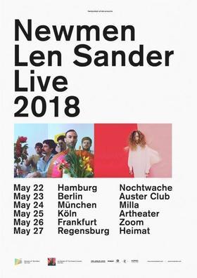 Bild: NEWMEN & LEN SANDER - Live 2018