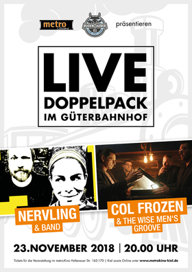 NERVLING & Band - COL FROZEN & The Wise Men`s Groove