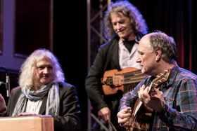 Bild: Night of the Strings mit Peter Finger, Wolfgang Stute und Thomas Roth