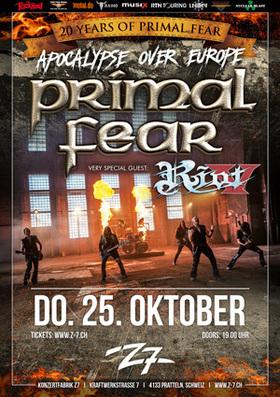 Bild: Primal Fear - Apocalypse over Europe