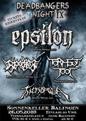 Bild: Epsilon, Bloodjob, Torment Tool, Theropoda
