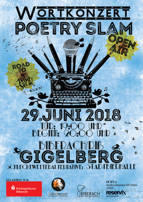 Bild: Wortkonzert No17 - Der Poetry Slam in Biberach - OPEN AIR -
