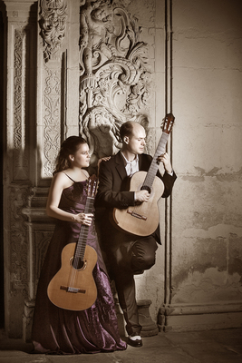 Bild: Amythis Duo - Lambrecht classical guitar events