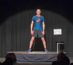 Bild: Dieter Baumann läuft - Kabarettabend - Dieter Baumann läuft halt - weil Singen kann er nicht