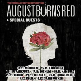 Bild: AUGUST BURNS RED - The European Phantom Anthem Tour