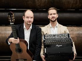 Bild: Duo Accordarra - Konzert Leverkusener Musiker