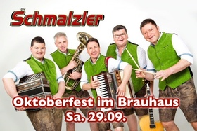 Bild: Oktoberfest im Butjenter Brauhaus