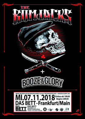 THE RUMJACKS + BOOZE & GLORY - Tour 2018