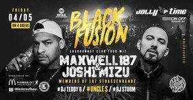 Bild: Blackfusion - 187er Strassenbande mit MAXWELL und JOSHI MIZU live in Braunschweig -> Vorband: Kaliber38