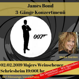 Bild: James Bond Konzertmenü - mit Meike Garden