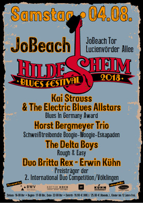 Bild: Hildesheim Blues Festival 2018 - Open Air am Freibad Jowiese