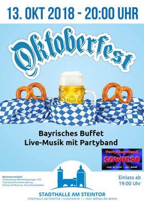 Bild: Oktoberfest Stadthalle am Steintor 2018