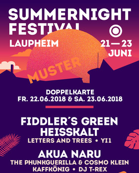 43. Summernight Festival Laupheim - Doppelkarte Freitag & Samstag